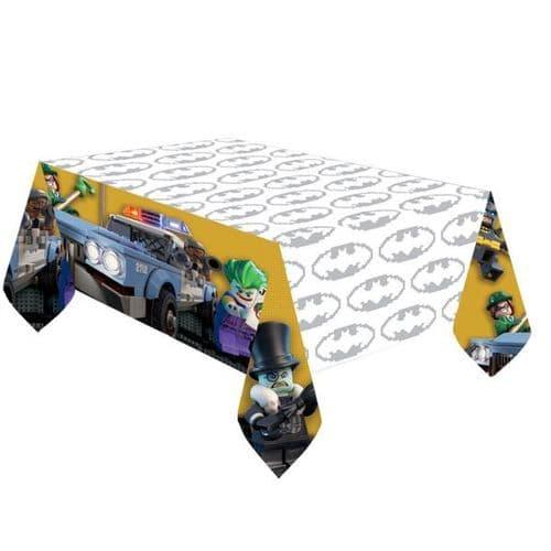 LEGO Batman Movie Plastic tablecover 1.37m x 2.43m