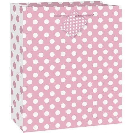 Lovely Pink Dot Giftbag-Large