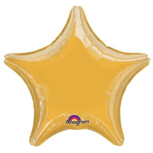Metallic Gold Star Foil Balloon