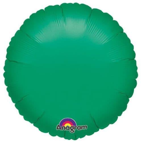 Metallic Green Circle Foil Balloon