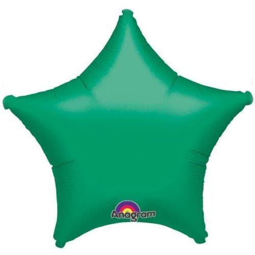 Metallic Green Star Foil Balloon