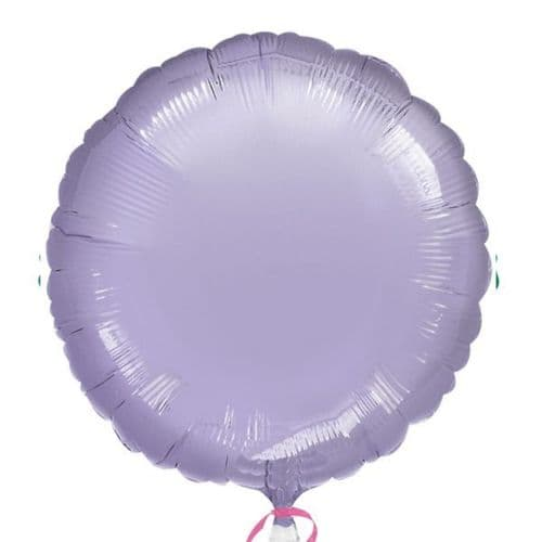 Metallic Lilac Circle Foil Balloon