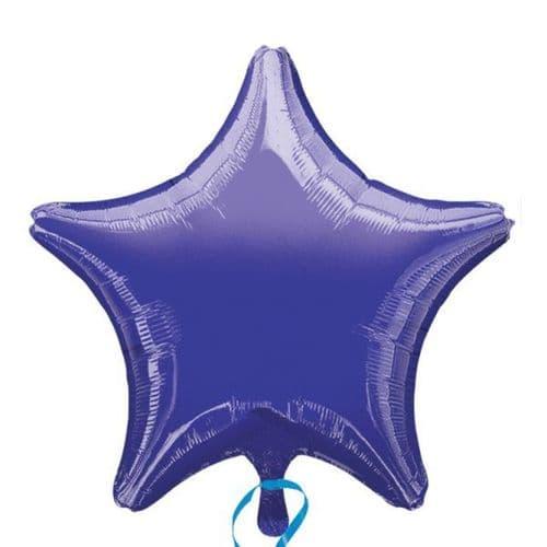 Metallic Purple Star Foil Balloon