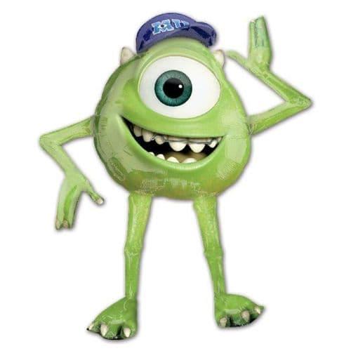 """Monsters University AirWalkers Mike Foil Balloon 51"""" x 54"""""""