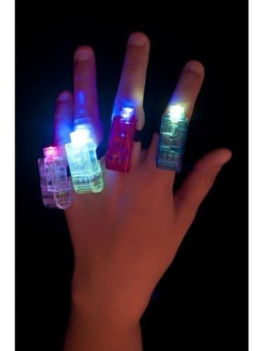 Multi Colour, Multi Flashing Finger Lights