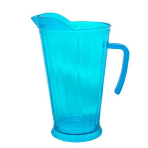 Neon Plastic Blue Pitcher