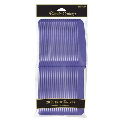 New Purple Plastic Forks 20 per pack.
