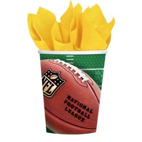 NFL Paper Cups 255ml 8's