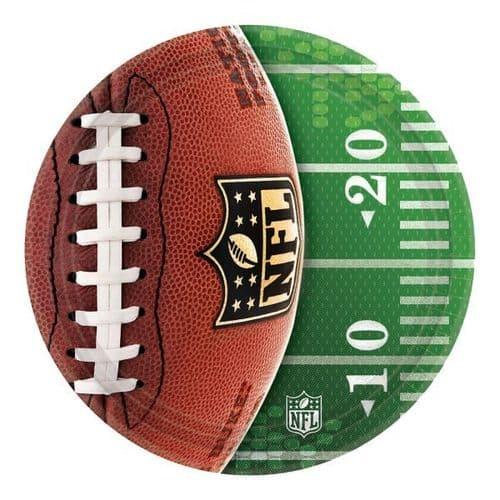 NFL Paper Plates 18cm 8's