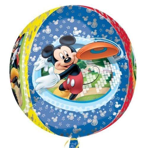 "Orbz Disney Mickey Mouse Foil Balloon - 15"" x 16"""