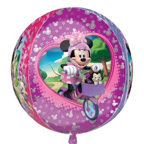 "Orbz Disney Minnie Mouse Foil Balloon 15"" x 16"""