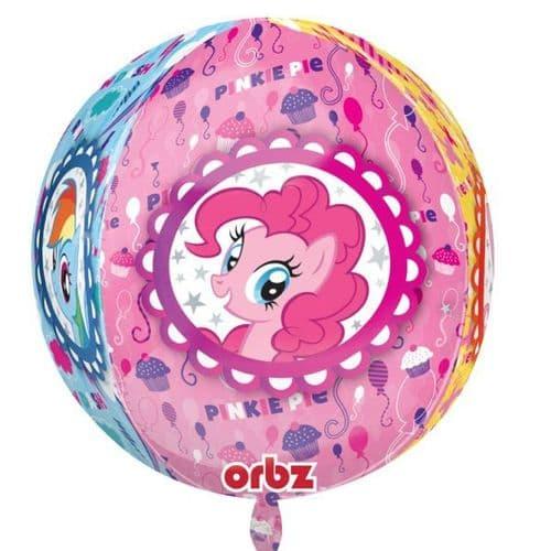 "Orbz My Little Pony Foil balloon 15"" x 16"""