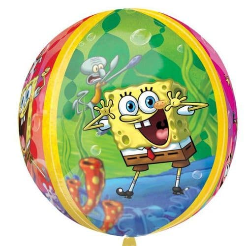 "Orbz SpongeBob Squarepants Foil Balloon - 15"" x 16"""