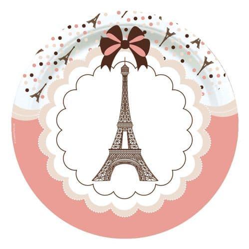 """Parisienne Dinner Plates 8 x 9"""""""