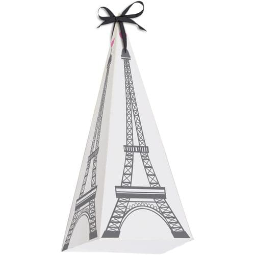 Party In Paris Favour Boxes with Ribbons 6's
