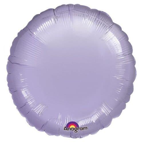 Pastel Lilac Circle Foil Balloon
