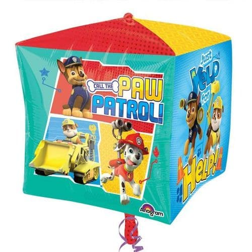 "Paw Patrol Cubuz Foil Balloon 15"" x 15"""