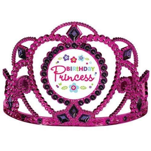 Pink & Teal Birthday Princess Tiaras