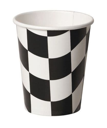 Racing Stripes Paper Cups 8's