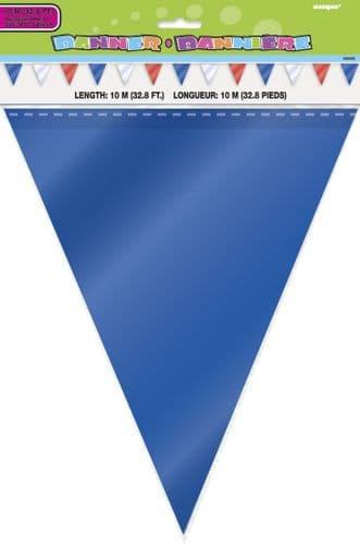 Red-White-Blue Flag Banner 10M-32Ft