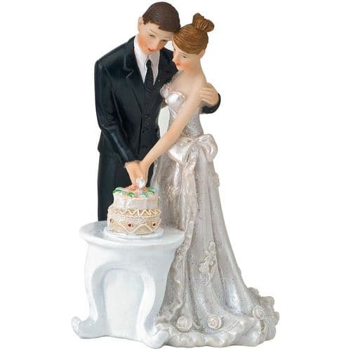 Resin Bride/ Groom Cutting Cake