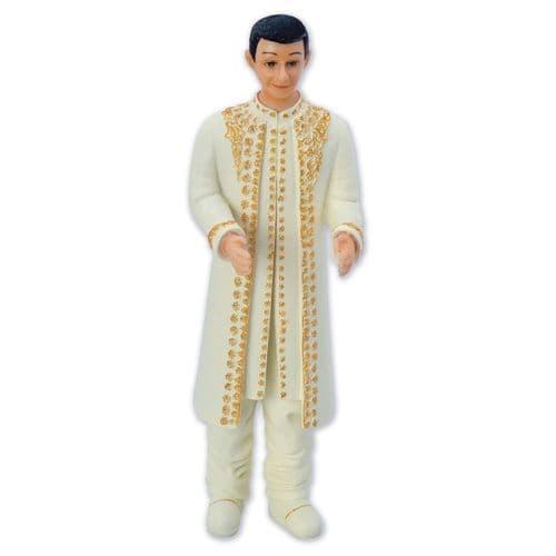 Resin Inter-Change Asian Groom Figure