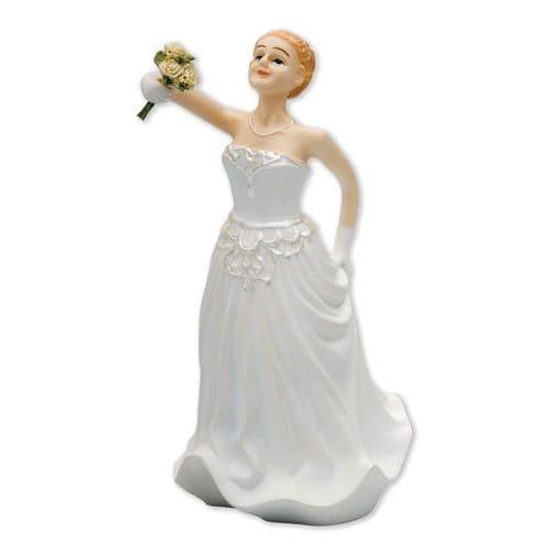 Resin Inter-Change Caucasian Bride Figure