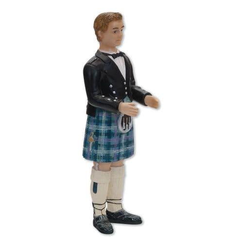 Resin Inter-Change Scottish Groom Figure