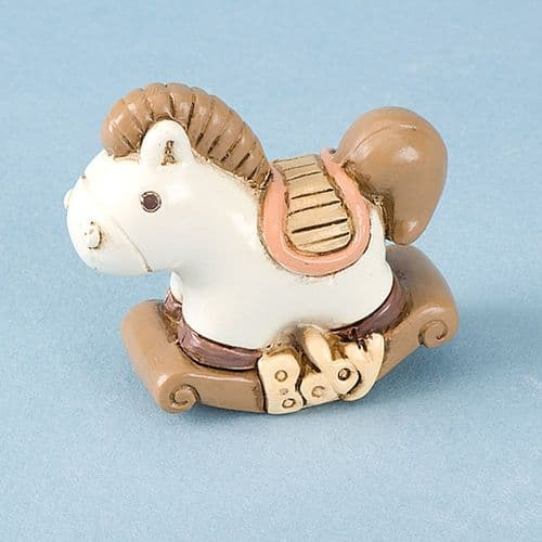 Resin Rocking Horse - 4 pieces