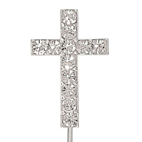 Small Diamante Cross - pack of 10