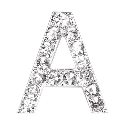 Small Diamante Letter  A  (sold separately)