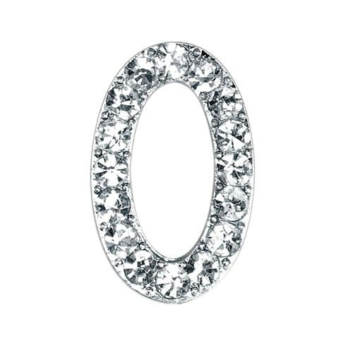 Small Diamante Number 0 (sold separately)