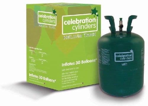 Small Helium Disposable Gas Cylinder