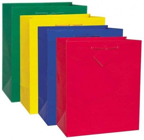 Solid Primary Giftbag Assorted-Large