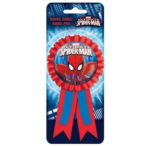 Spider-Man Confetti Pouch Award Ribbon