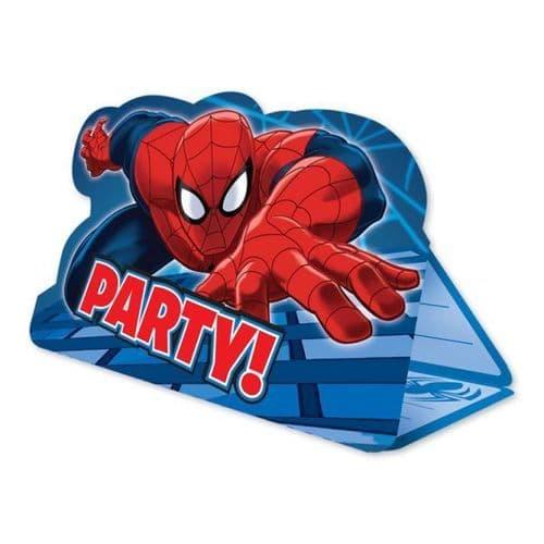 Spider-Man Invitations  8's