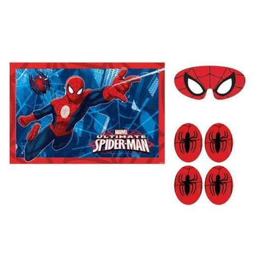 Spider-Man Party Games 4's