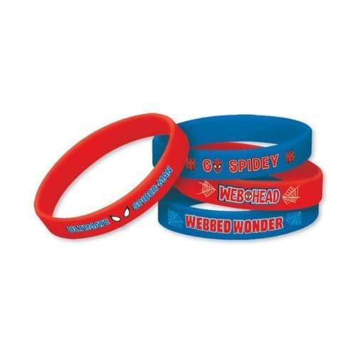 Spider-Man Rubber Bracelet  4's