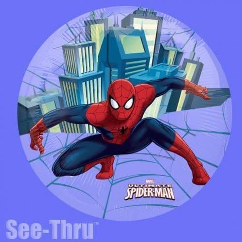 """Spider-Man See-Thru Foil Balloon - 26"""""""