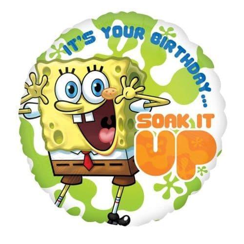 SpongeBob Birthday  Standard Foil Balloon