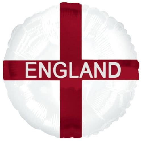 St George's Cross England Foil Balloon
