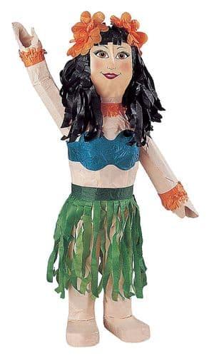 Standard Pinata Hula Girl