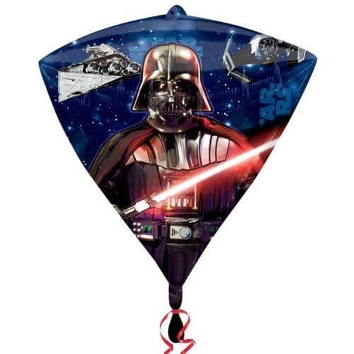 """Star Wars Diamondz Foil Balloons 15"""" x 17"""""""