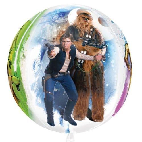 "Star Wars Orbz Foil Balloons 15"" x 16"""