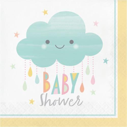 Sunshine Baby Shower 16 x 2ply Luncheon Napkins