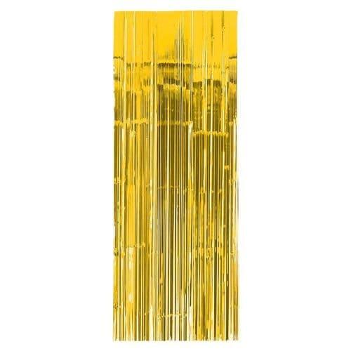 Sunshine Yellow Door Curtain 91cm x 2.43m