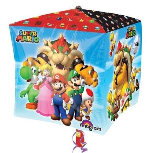 """Super Mario Bros Cubuz 15"""" x 15"""""""