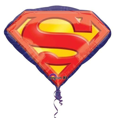 Superman Emblem SuperShape Foil Balloons