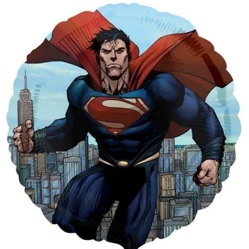 Superman Man of Steel Standard Foil Balloons