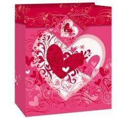 Tangled Hearts Giftbag - Small